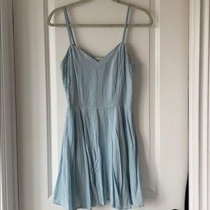 Aritzia pale blue dress